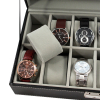 12 Watch Valet Case With Dividers, Pillows, Lock, and Key Pillow View3