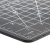 Universal Tool  DIY Craft Self Healing Cutting Mat Hobby Tool Black 5 x 9 Inch