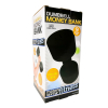 Black Toy Dumbbell Money White