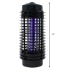 "ASR Outdoor Rechargeable UV Bug Zapper 500 Foot Range 11"" Tall"