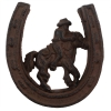 Cowboy Horseshoe Western Theme Door Knocker