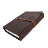 Leather Bound Journal Tree of Life Embossed Diary Side View