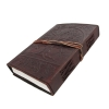 Leather Bound Journal Tree of Life Embossed Diary Angle View