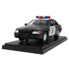California Highway Patrol Car Replica 1:24 Scale On Display