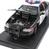 California Highway Patrol Police Car Replica 1:24 Scale Open Hood