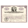 Old West Authentic Railroad Stock Certificate - NYC Railroad Company