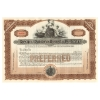 Old West Authentic Railroad Stock Certificate - Boston Railroad Company