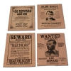 Wild West wanted posters w/ Billy the Kid