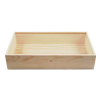 Wooden Display Case Jewelry Box Closed