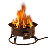 Home Patio Portable Propane Family Fire Pit Essential Outdoor Entertaining