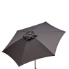 Destination Gear 8.5ft Doppler Patio Umbrella - Graphite Grey