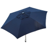 9ft Tilt Doppler Market Umbrella Home Patio Sun Shade Canopy- Navy