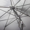 Outdoor Patio Umbrella Coors Light 9 ft Pully Lift System Up Close
