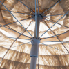 Palapa Tiki Push/Tilt Whiskey Umbrella 7.5 foot - Patio Pole Up Close