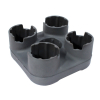 BevBase Universal 4 Cup Beverage Holder Travel Custom Accessory Organizer