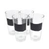 16 ounce Glass Beer Pint Glasses Set of 4 with