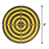 Mini Dart Board Game with Darts Man Cave Bar Accessories Double-sided Target