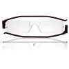 Nannini Italy Compact Black Reading Glasses - 3.0 Optic Strength with Scale