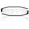 Nannini Italy Compact Ultra Thin Anallergic Black Reading Glasses - 2.5 Optic Strength