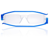 Nannini Italy Compact Ultra Thin Anallergic Blue Reading Glasses - 3.0 Optic Strength
