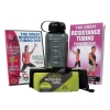 Productive Fitness Resistance Exercises DVD Handbook Towel and Water Bottle Set