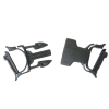 Gear Aid Dual Snap Bar Replacement Buckle Outdoor Camping Hiking Repair - Black