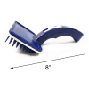 Royal Pet Blue Pet Brush Push Button Clears Out Fur and Hair 8 Inch Dog Brush