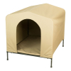 HoundHouse Portable Collapsable Pet Kennel Shelter Khaki - Large