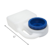 PortablePet Waterboy 3 Quart Travel Pet Water Bowl