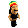 Rasta comedy golf head cover for those days when you want to take it easy on the golf course and just have a laugh.