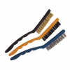 3pc Large Handle Wire Bristle Brush Set