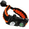 ASR Outdoor Paracord Survival Bracelet Hidden Multitools - Orange