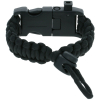 ASR Outdoor Multitool Paracord Survival Bracelet Black