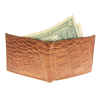 Brandon Dallas Spacious Bi-fold Wallet Hand Crafted with Genuine Leather - Tan