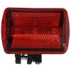 4 Function 3 LED Bicycle Red Safety Flasher Bike Bracket Attachment