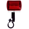 4 Function 3 LED Bicycle Red Safety Flasher Bike Bracket Attachment Scale