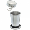 ASR Outdoor Stainless Steel Collapsible Camping Cup 2.5oz