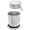 ASR Outdoor Stainless Steel Collapsible Camping Cup 8.5oz