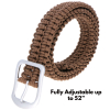 "ASR Outdoor Paracord Duty Belt - Tan 52"" Adjustable"