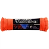 ASR Outdoor Survival Paracord Rope Orange - 100ft