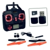 Real-Time Drone Handheld Device, Includes 4 extra propellers and USB/Memory card and reader attachments