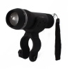 ASR Outdoor Bicycle Zoom 1 Watt Flashlight and Handle Bar Rotating Mount