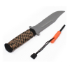 ASR Outdoor 11 Inch Survival Knife Stainless Steel Blade Fire Starter Army Camo