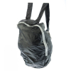 Zip Water Resistant Backpack in Black