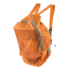 Orange Backpack Carry Travel Bag