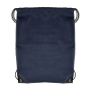 ASR Outdoor Navy Blue Drawstring Stopper Bag Backpack Durable Polyester Tote