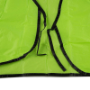 Universal Fit Disposable Safety Vest High Visibility Lime Green Up Close