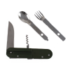 ASR Outdoor 6 in 1 Camping Utensil Multi-Tool with Carrying Case for Outdoor Rec