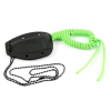 "6"" Paracord Wrapped Compact Neck Chain Knife with Sheath (Neon Green) Tactical Outdoor"