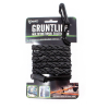 Tactical Gruntline Elastic Cord In Field Outdoor Emergency Survival - 7 ft Black